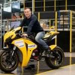 Honda Fireblade-based electric project unveiled by students 3