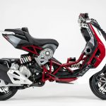 2020 Italjet Dragster. The scooter's production to start in May 15
