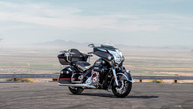 2020 Indian Roadmaster Elite unveiled. A new chrome polished American cruiser 1