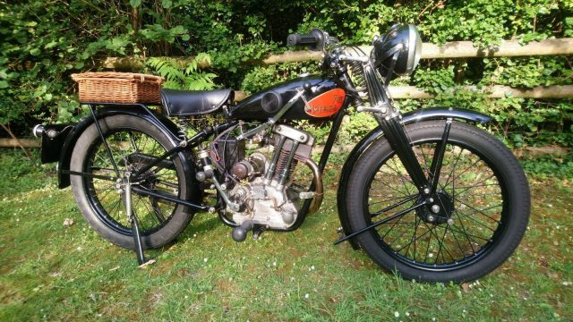 1932 New Imperial Model 23 motorcycle