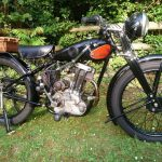This guy is selling his 1930 Norton CSI vintage motorcycle to save a Church 13