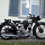 This guy is selling his 1930 Norton CSI vintage motorcycle to save a Church 2