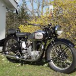 This guy is selling his 1930 Norton CSI vintage motorcycle to save a Church 3