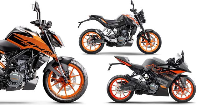 2020 ktm range launched BS vi update m