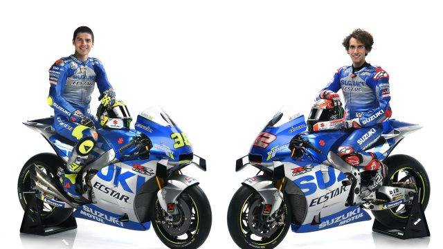 2020 Suzuki MotoGP bike unveiled. Here's the bike 1