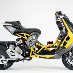 2020 Italjet Dragster. The scooter's production to start in May 4