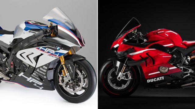 Ducati Superleggera V4 vs BMW HP4 Race - A techspec comparison 1