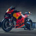 2020 KTM MotoGP bike unveiled. 265+ hp and 157 kg 7