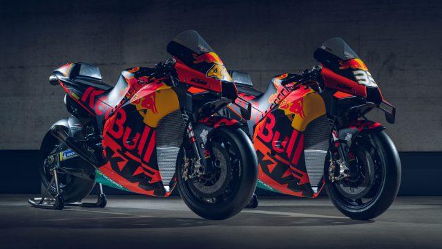 2020 KTM MotoGP bike unveiled. 265+ hp and 157 kg 1