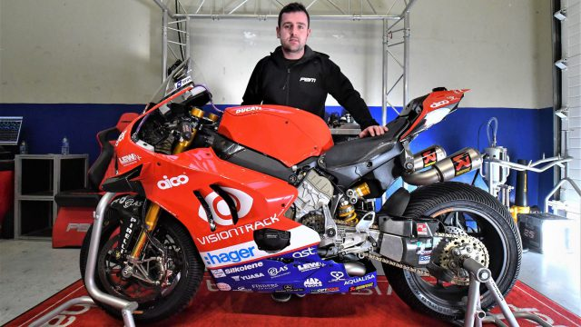 2020 IOM TT: Dunlop will race a Ducati Panigale V4 R at the TT. 230hp & 210mph 2