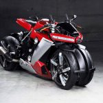Lazareth LM 410 goes on sale. Four-wheeled 200 hp & €100,000 bike 6