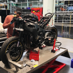 Honda Fireblade-based electric project unveiled by students 9