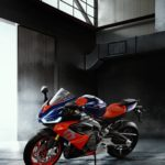 2020 Aprilia RS660 updated for A2 license. Downgrade to 95 hp 6