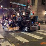 Keanu Reeves rides a Ducati Scrambler in Matrix 4. Leaked photos show 3