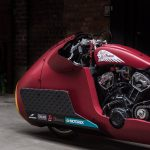 Indian Appaloosa v2.0 wicked motorcycle returns to race on ice at -20°C 20