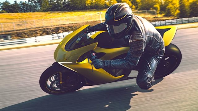 Damon Hypersport Electric Motorcycle