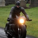 Batman crashes his motorcycle during filming 6