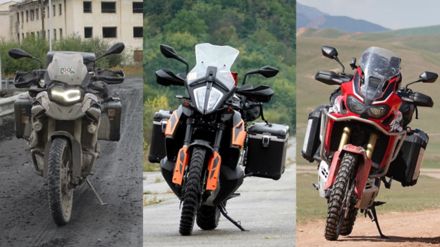 Africa Twin vs. KTM 790 Adventure vs. BMW F850GS - Real-Life Review 5