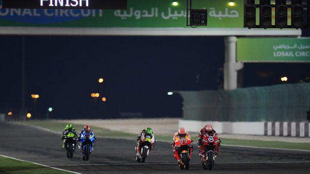 MotoGPTM Qatar glory for Andrea Dovizioso Mission Winnow Ducati
