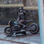Batman crashes his motorcycle during filming 9