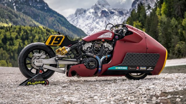 Indian Appaloosa v2.0 wicked motorcycle returns to race on ice at -20°C 1