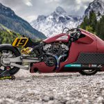 Indian Appaloosa v2.0 wicked motorcycle returns to race on ice at -20°C 2