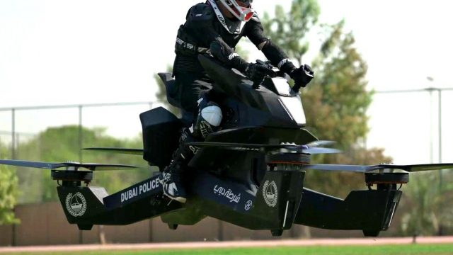 S3 Scorpion hoverbike police