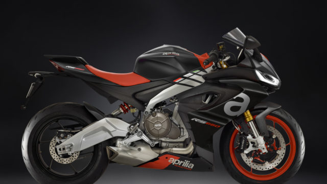 2020 Aprilia RS660 updated for A2 license. Downgrade to 95 hp 10