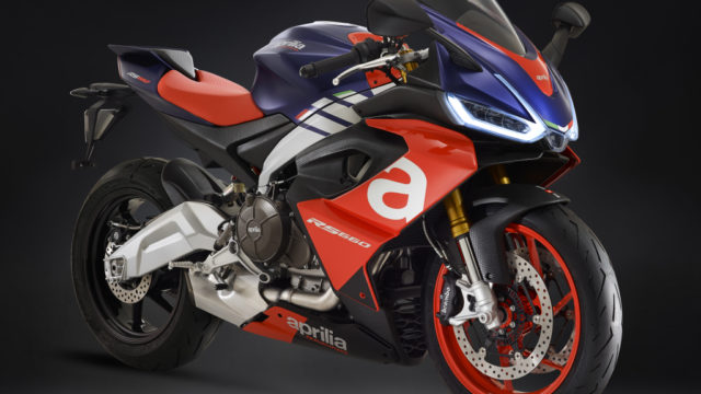 2020 Aprilia RS660 updated for A2 license. Downgrade to 95 hp 12