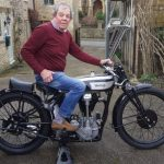 This guy is selling his 1930 Norton CSI vintage motorcycle to save a Church 4