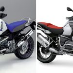 Adventure Bikes Comparison: Weight & Power. How they changed through the years 19