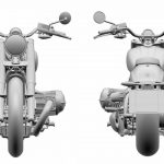 BMW R18 Based Touring Bike Patents Revealed 12