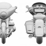 BMW R18 Based Touring Bike Patents Revealed 2