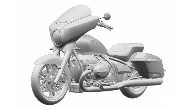 BMW R18 Based Touring Bike Patents Revealed 1