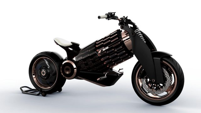 Newron EV-1 electric motorcycle. 0-60mph in under 3 seconds 1