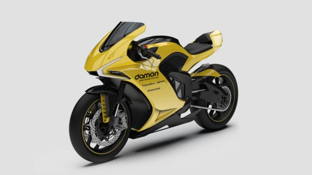 damon motorcycles hypersport electric motorcycle