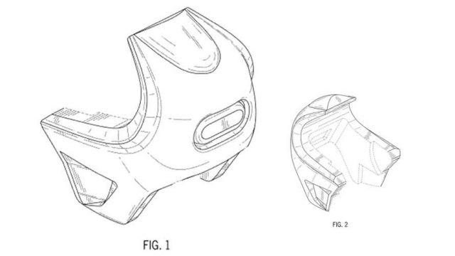 harley davidson bubble fairing patent