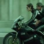 Keanu Reeves rides a Ducati Scrambler in Matrix 4. Leaked photos show 5