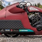 Indian Appaloosa v2.0 wicked motorcycle returns to race on ice at -20°C 17