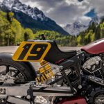 Indian Appaloosa v2.0 wicked motorcycle returns to race on ice at -20°C 9