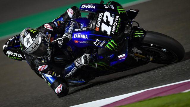 maverick vinales qatar test motogp 2020 1