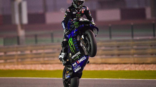 maverick vinales qatar test motogp 2020 3