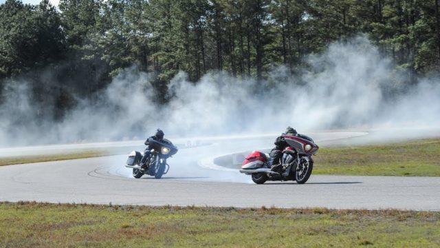 Modified bagger motorcycles to race at Laguna Seca 1