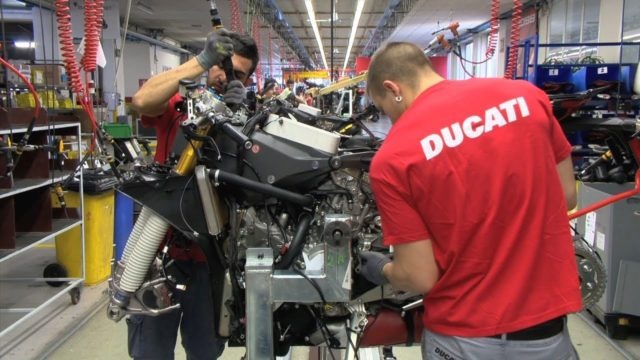 Coronavirus: Ducati & Piaggio Factories Still Open 1