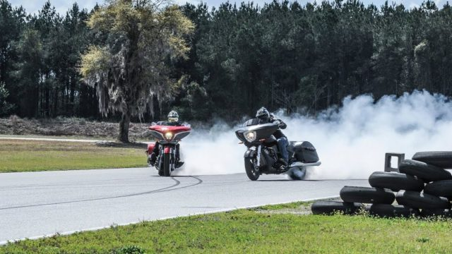 Modified bagger motorcycles to race at Laguna Seca 8