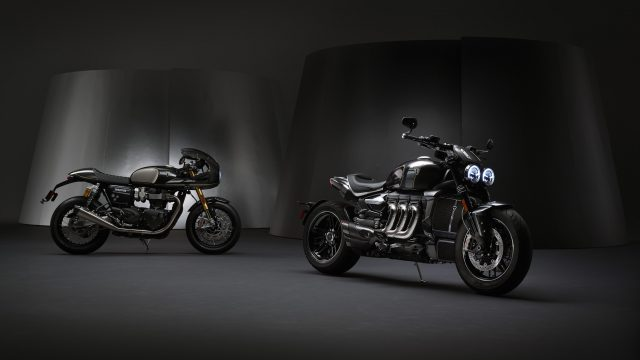 Triumph made in Thailand. The production will be moved soon 1