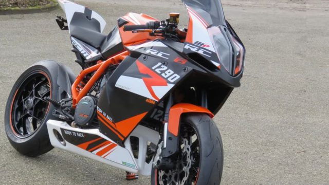 KTM RC 1290: A custom made 177hp superbike 1