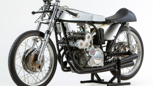 Unique Ducati racing bike to break auction records. $770,000 motorcycle 1