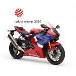 Honda Fireblade Wins Red Dot Design Award 2