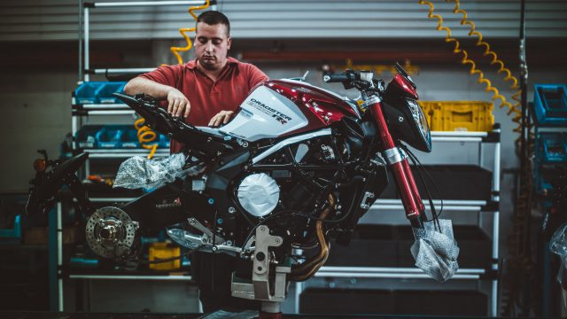 MV Agusta Maintains Production Open 1